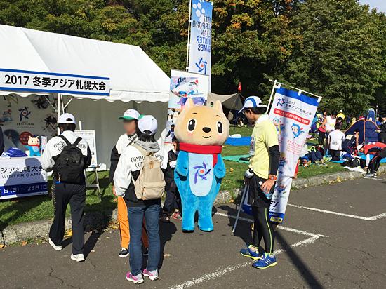 2017冬季アジア札幌大会PR in 札幌マラソン