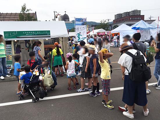 北海道新幹線PR活動 お祭り巡り