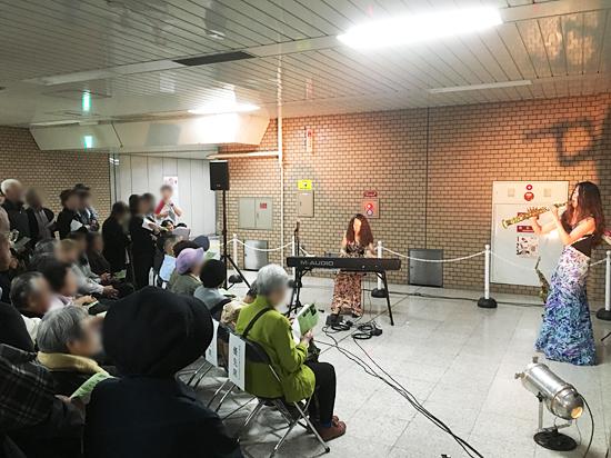 街角ジャズ in 栄町駅