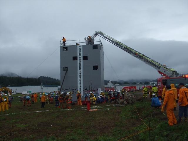 平成29年度 緊急消防援助隊北海道東北ブロック合同訓練(山形県米沢市)